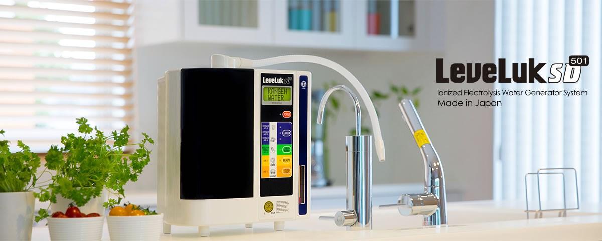 máy lọc nước điện giải Kangen LeveLuk SD501