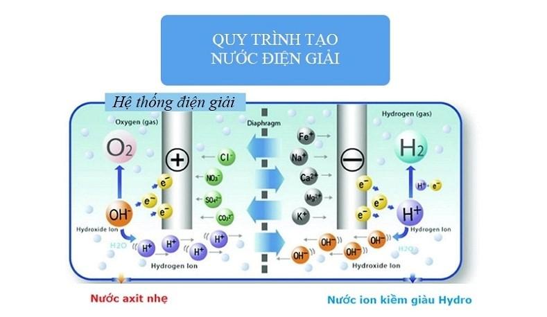 Quy trình tạo nước