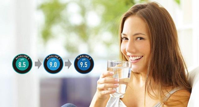 Uống nước ion kiềm từ máy điện giải Panasonic TK-AB50 để khỏe mạnh mỗi ngày
