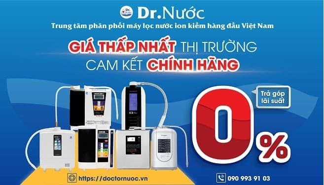 mua máy lọc nước ion kiềm giàu hydro chính hãng giá rẻ nhất